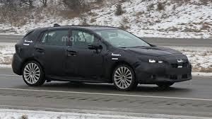 hatchback subaru 2017 2017 subaru impreza hatchback spied during final testing