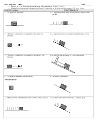 force diagrams worksheet worksheets reviewrevitol free printable