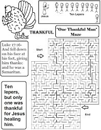 thanksgiving one thankful leper sunday school lesson