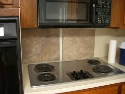 Do It Yourself Backsplash For Kitchen An Easy Backsplash Made With Vinyl Tile Hgtv With Regard To