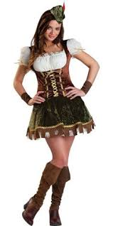 Tween Halloween Costumes Girls Teen Girls Robin Hood Dress Cape Satchel Kids Juniors