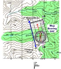 declination map oa guide to map compass part 3