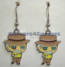 jojo s earrings jojo s adventure joseph joestar earrings
