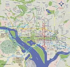 washington subway map combine the circulator and metro maps for visitors greater
