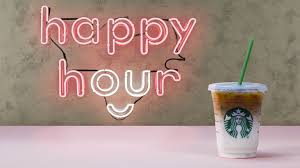 starbucks happy hour expands to more than frappuccinos by