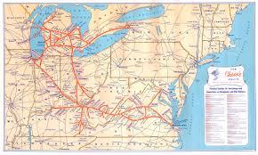 Union Pacific Railroad Map Collis P Huntington