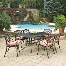 Backyard Aluminum Casting Weather Resistant Patio Dining Sets Patio Dining Furniture