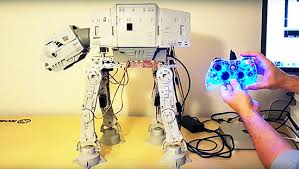 arduino blog hacking vintage star wars toy walk
