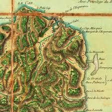 Map Caribbean Map Of St Lucia 1779 Sainte Lucie Le Rouge Battlemaps Us