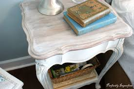 Bedroom Furniture White Washed Guest Bedroom End Table Makeover Perfectly Imperfect Blog