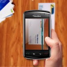 Business Card Reader Scanner Business Card Reader For Blackberry Smartphones Crackberry Com