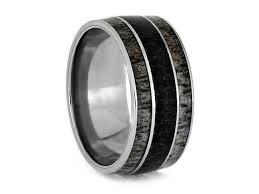 fossil verlobungsringe 266 besten antler rings bilder auf geweih ring