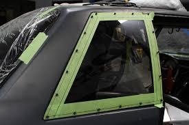 Fox Body Black Interior Tech Installing Project Evil 8 5 U0027s Optic Armor Windows