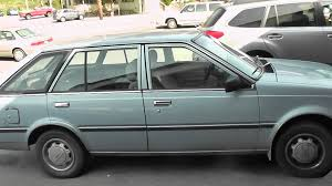 nissan datsun hatchback nissan sentra 1984 walkaround youtube