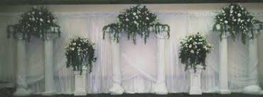 Pillars And Columns For Decorating Wedding Backdrops Backgrounds Decorations Columns