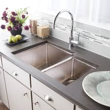 Two Bowl Kitchen Sink by Cocina Duet Double Basin Kitchen Sink Native Trails