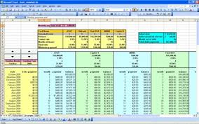 Debt Payoff Spreadsheet Excel Debt Snowball Calculator For Paying Debt
