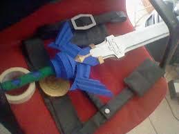 Master Sword Papercraft - the master sword o by davidisabeast on deviantart