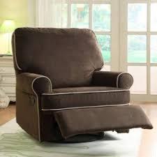 Brown Recliner Chair Nursery Glider Recliner Chair Foter