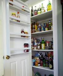 Cabinet Door Mounted Spice Rack Door Mounted Storage Rack The Door Storage Racks Cabinet