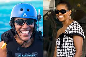 Obama S Vacation Barack And Michelle Obama Land Reported 65 Million Book Deal