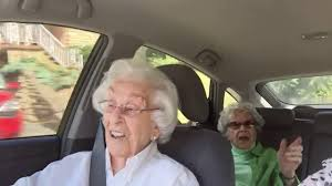 Grumpy Old Lady Meme - old ladies argue in the car youtube