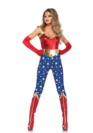 wonder woman corset spirit halloween leg avenue 85577 sensational super hero wonder woman costume dress
