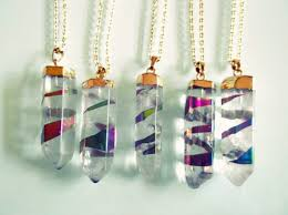 titanium gold necklace images Jewels gold crystal gems fashion style alternative grunge jpg