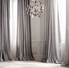 Striped Silk Fabric For Curtains Taffeta Pavilion Stripe Drapery