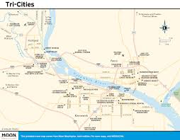 Columbia River Map Printable Travel Maps Of Washington State Moon Travel Guides