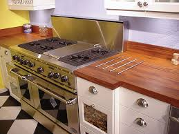 teak countertop with set down kitchen giallo ornamental solid