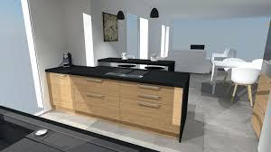 interieur cuisine moderne design d intérieur hotte industrielle cuisine moderne 9 bois et