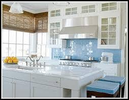 Sea Glass Backsplash Kitchen - Sea glass backsplash