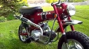 first year 1969 honda ct70 u0027trail 70 u0027 for sale on ebay youtube