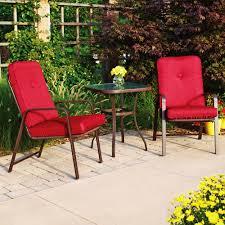 Patio Furniture From Walmart by Mainstays Lawson Ridge 3 Piece Outdoor Bistro Set Seats 2