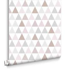 White Rose Bedroom Wallpaper Geometric Wallpaper Designs Retro U0026 Triangle Wallpaper