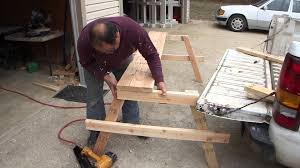 Best Wood To Make Picnic Table by How To Build A Cheap Wood Picnic Table A Complete Guide From