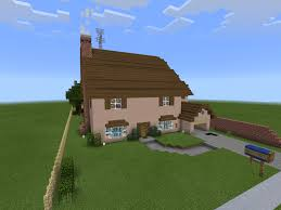 farm house minecraft the simpson u0027s house minecraft pe minecraft mcpe minecraft