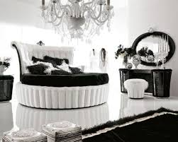 Red And White Bedroom Walls Black And White Room Decor Glass Window White Red Bed Red Painted