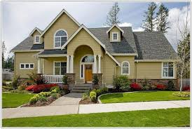 yellow house front door color painting home decorating ideas