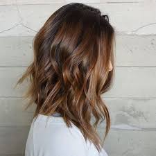 pictures of graduated long bobs long choppy brown bob with highlights hair world magazine
