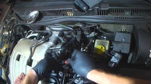 vw a4 2 8l afp vr6 coolant hose set replacement at throttle body