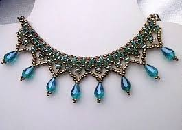choker necklace beads images Versatile superduo beaded choker necklace tutorial the beading jpg