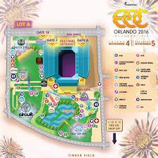 Orlando Map Store by Edc Orlando 2016 The Essentials Edm Identity