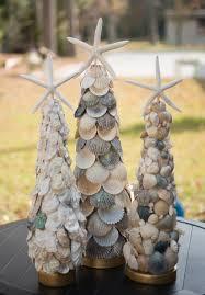 elegant seashell christmas tree with oysters shells 59 95 via