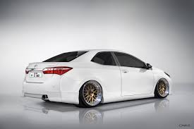 stanced toyota corolla 2014 corolla photochopped by