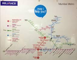 Metrorail Map Urbanrail Net U003e Asia U003e India U003e Mumbai Metro Rail
