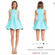 aq aq dresses 81 aq aq dresses skirts aq aq blue broadwalk mini dress