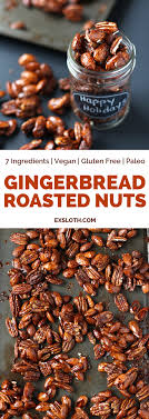 gingerbread glazed roasted nuts diary of an exsloth