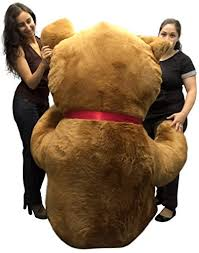 personalized giant teddy bear 96 inches soft big plush 8 foot